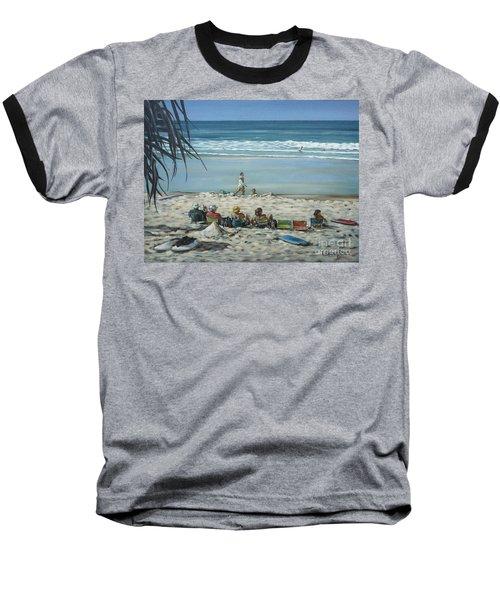 Burleigh Beach 220909 Baseball T-Shirt