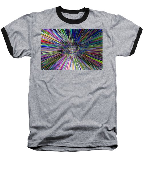 3 D Dimensional Art Abstract Baseball T-Shirt