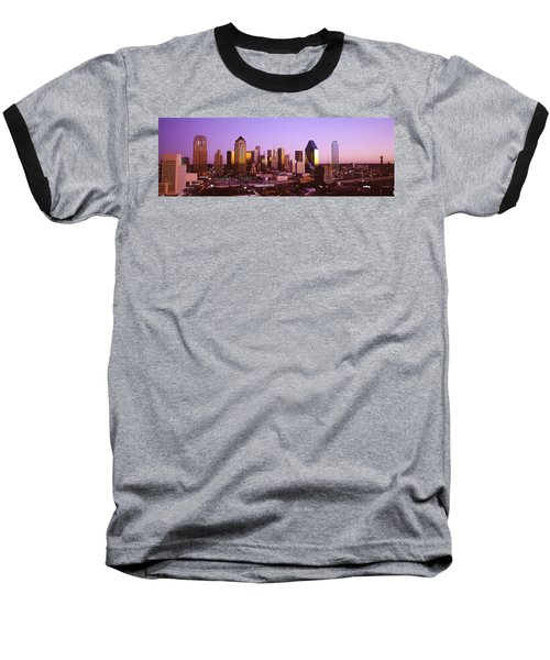 Dallas, Texas, Usa Baseball T-Shirt by Panoramic Images