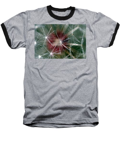 Baseball T-Shirt featuring the photograph Dandelion Seed Head by Henrik Lehnerer