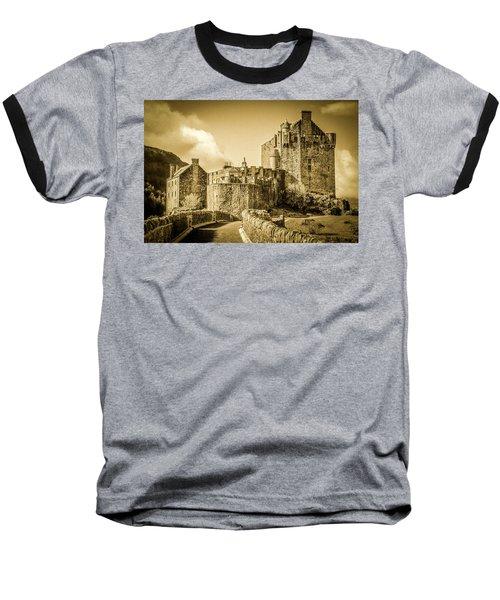 Eilean Donan Castle Baseball T-Shirt