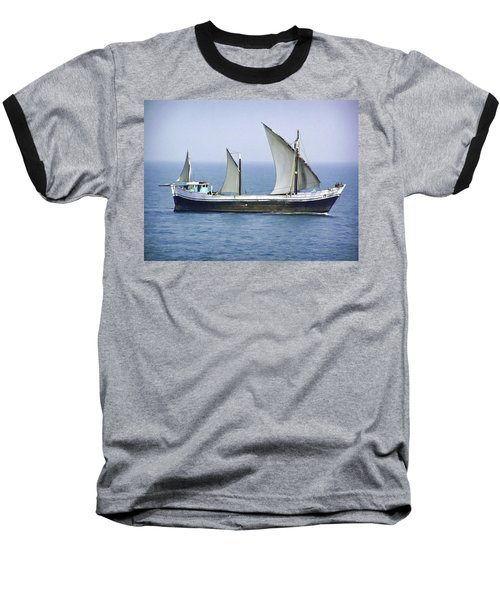 Fishing Vessel In The Arabian Sea Baseball T-Shirt