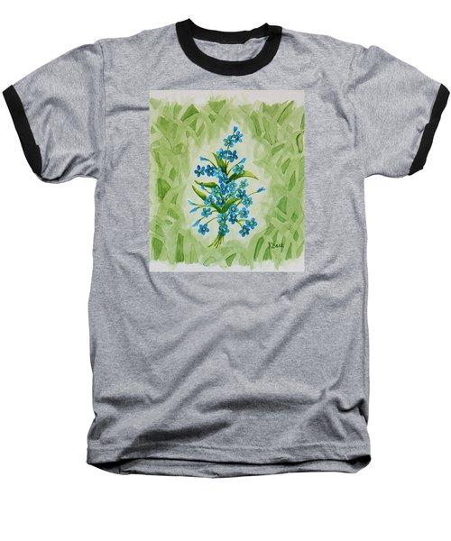 For-get-me-nots Baseball T-Shirt