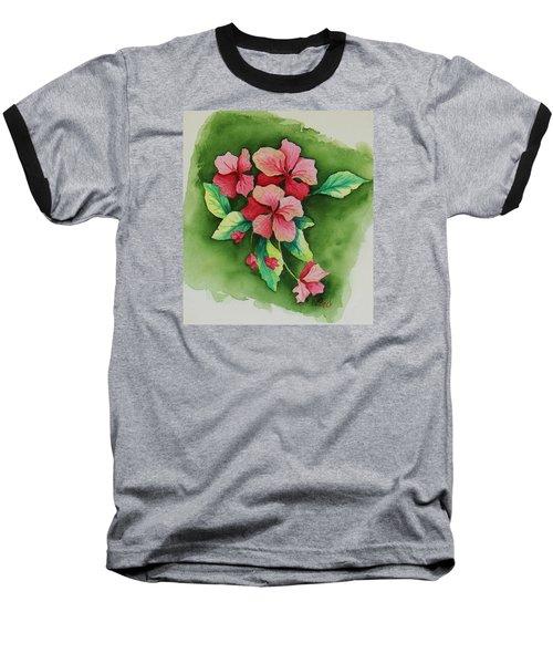 Geraniums Baseball T-Shirt