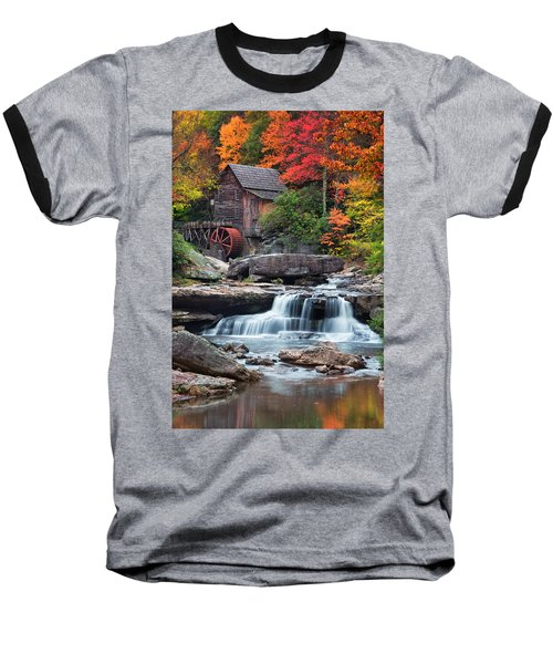 Glade Creek Grist Mill  Baseball T-Shirt