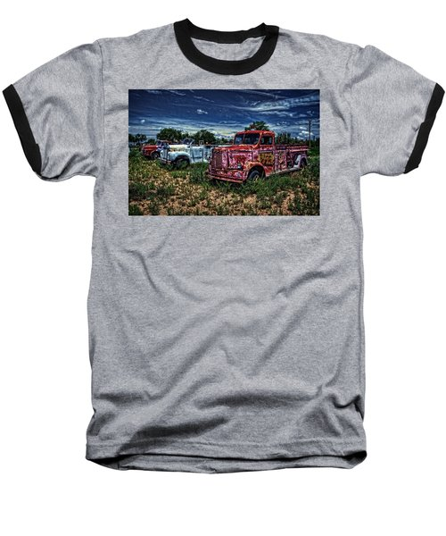 Baseball T-Shirt featuring the photograph 3 In A Row by Ken Smith