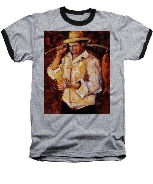 Jibaro De La Costa Baseball T-Shirt