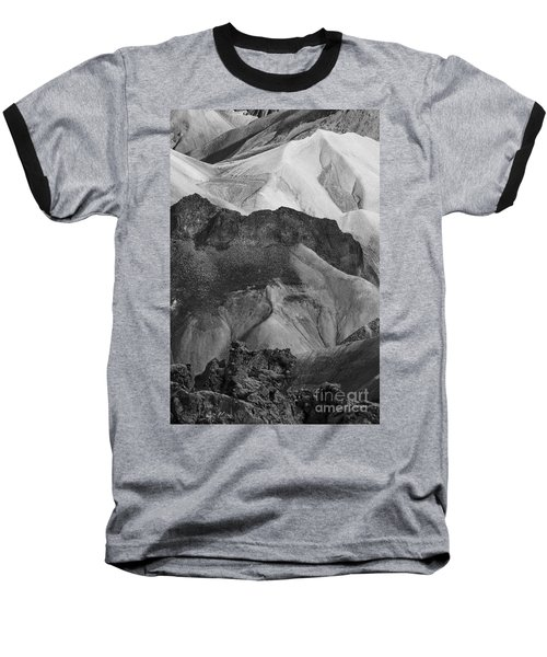 Landmannalaugar Iceland 6 Baseball T-Shirt by Rudi Prott