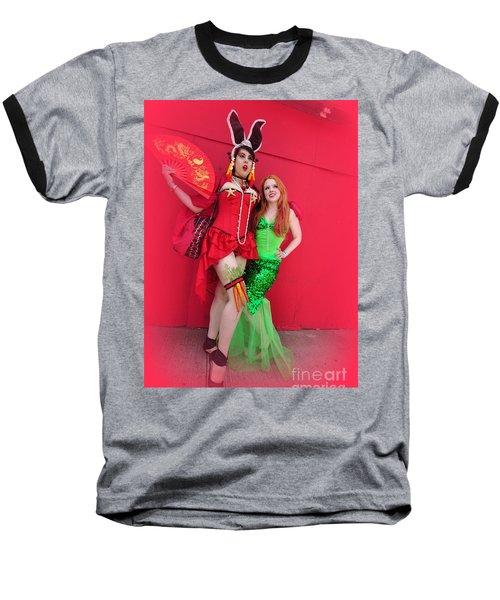Mermaid Parade 2011 Baseball T-Shirt
