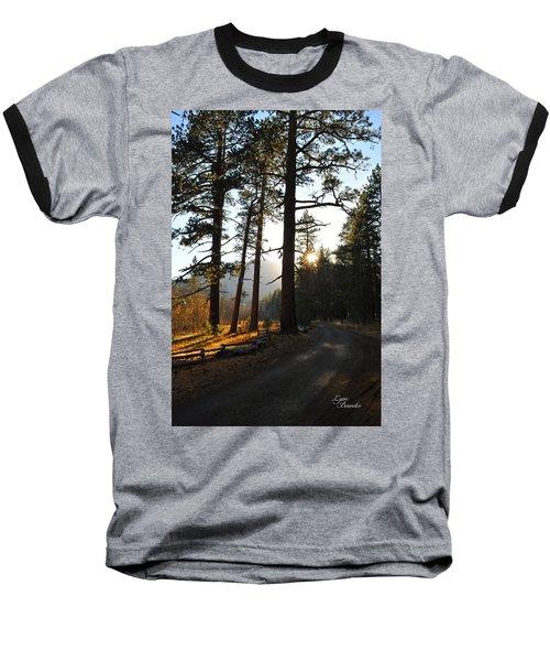 Mountain Road Baseball T-Shirt