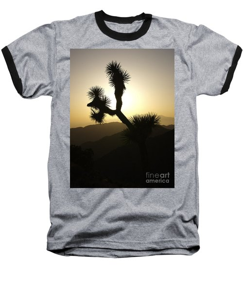 New Photographic Art Print For Sale Joshua Tree At Sunset Baseball T-Shirt