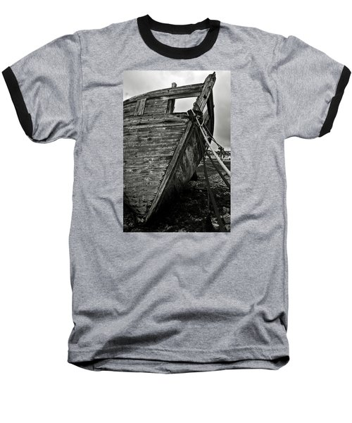 Old Abandoned Ship Baseball T-Shirt