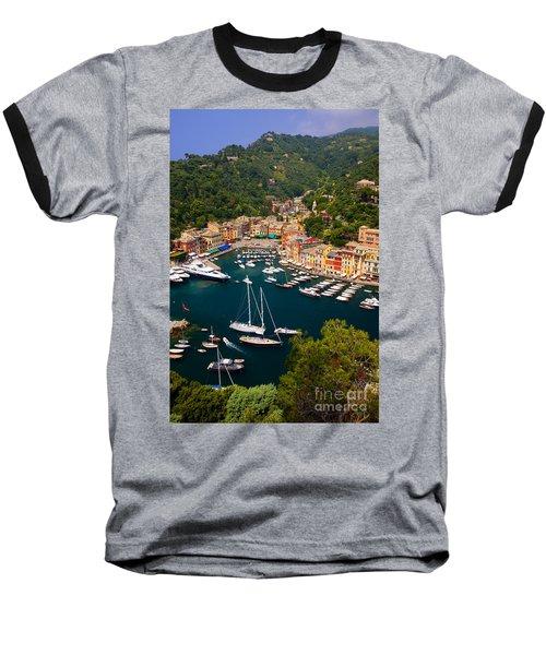 Portofino Baseball T-Shirt by Brian Jannsen
