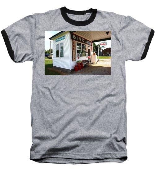 Route 66 Filling Station Baseball T-Shirt