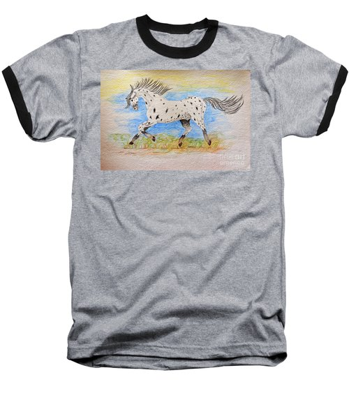 Running Free Baseball T-Shirt
