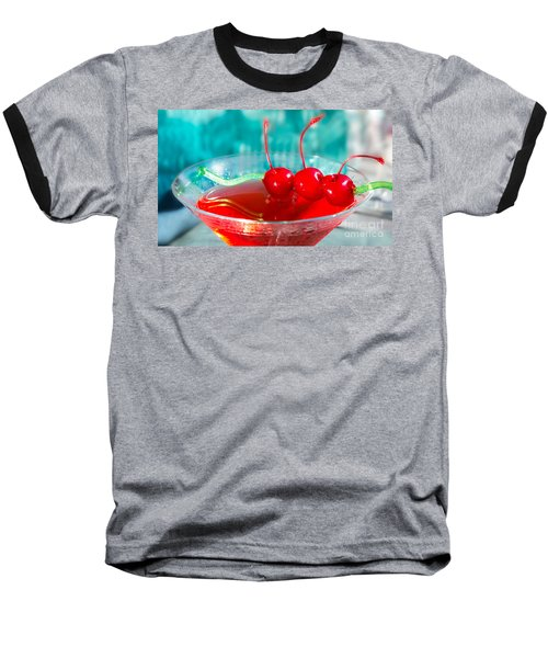 Shirley Temple Drink Baseball T-Shirt