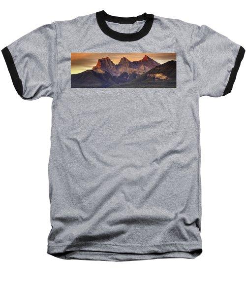 3 Sisters Canmore Alberta Baseball T-Shirt