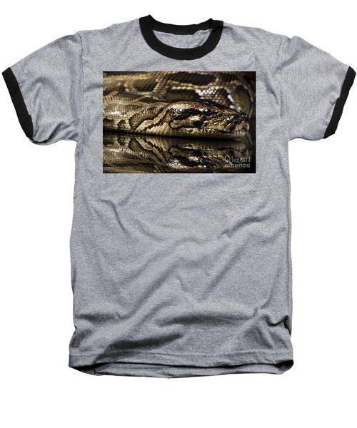 Baseball T-Shirt featuring the photograph Snake by Gunnar Orn Arnason