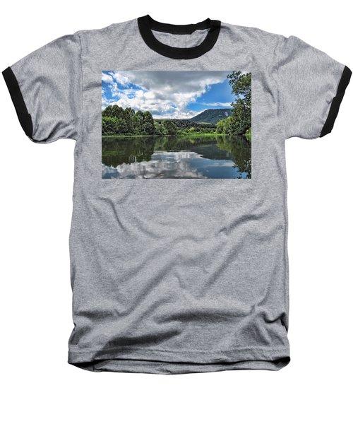 South Fork Shenandoah River Baseball T-Shirt by Lara Ellis