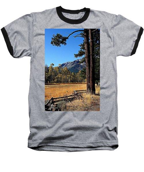 Split Rail Fence Baseball T-Shirt