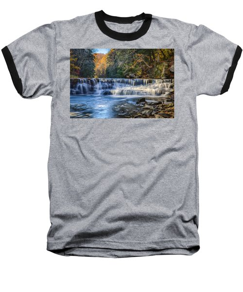 Squaw Rock - Chagrin River Falls Baseball T-Shirt