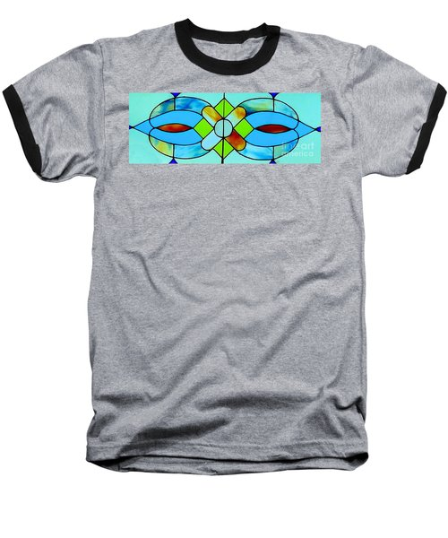 Baseball T-Shirt featuring the photograph Stained Glass Window by Janette Boyd