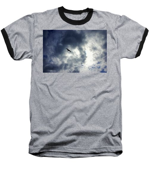 Baseball T-Shirt featuring the photograph Storm Flyer by Marilyn Wilson