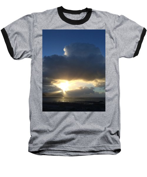 Sunbeams Over Conwy Baseball T-Shirt