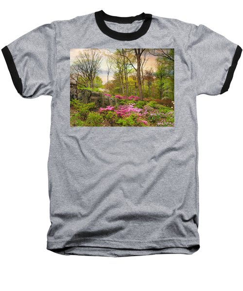 The Azalea Garden Baseball T-Shirt