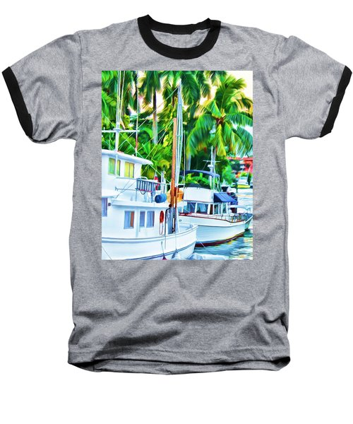 Two Boats Baseball T-Shirt