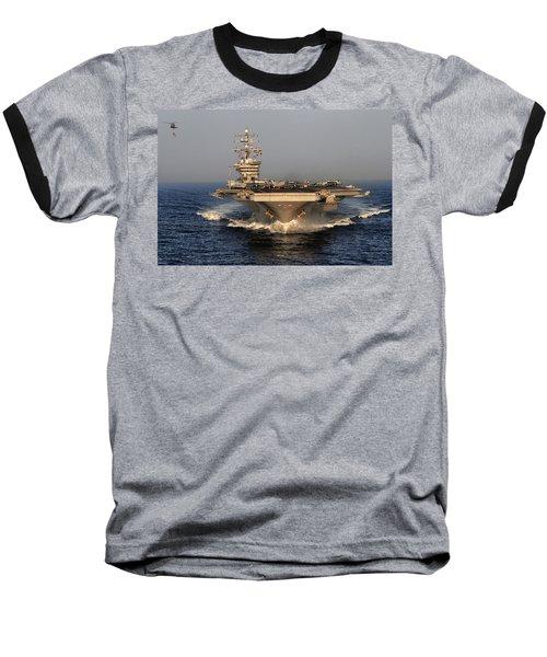 Uss Dwight D. Eisenhower Baseball T-Shirt