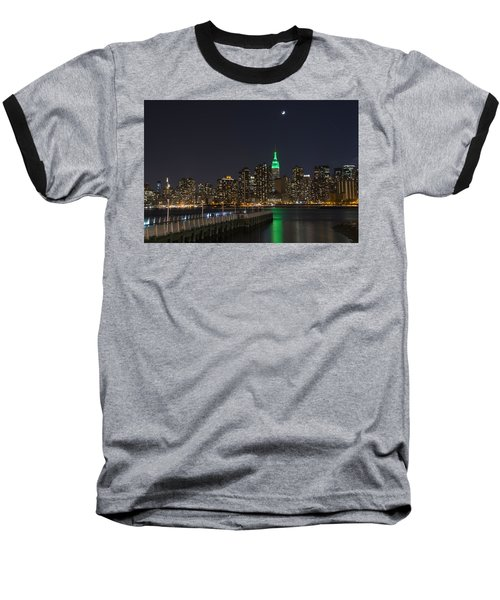 View From Gantry Plaza State Park Baseball T-Shirt