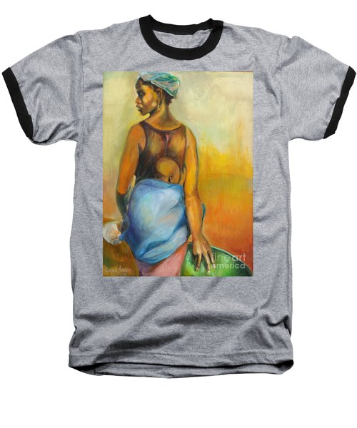 Wash Day Baseball T-Shirt by Daun Soden-Greene
