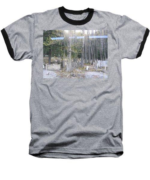 300yr Cemetery Baseball T-Shirt