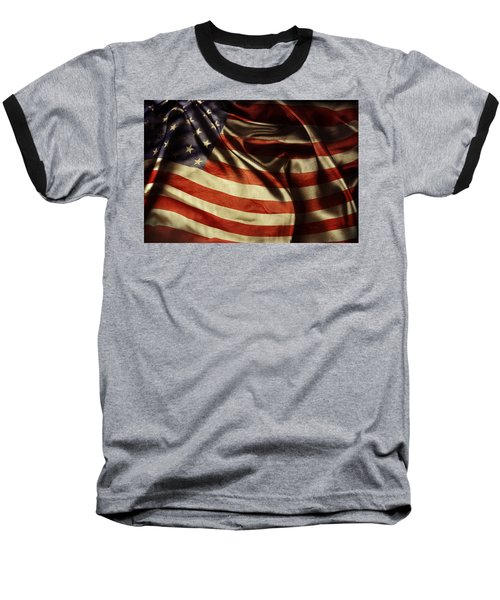 American Flag 51 Baseball T-Shirt