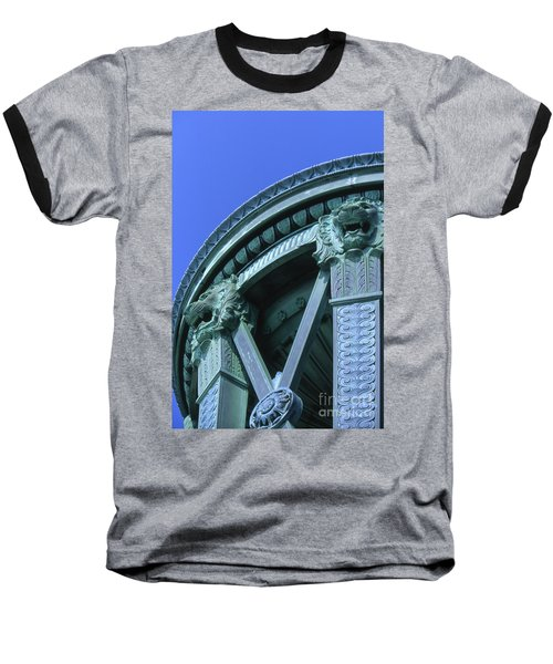35x11 Perrys Victory Memorial Photo Baseball T-Shirt