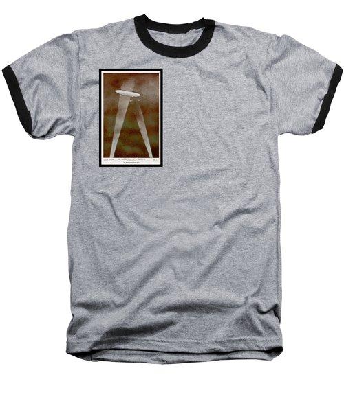 American Beaver Swimming Baseball T-Shirt