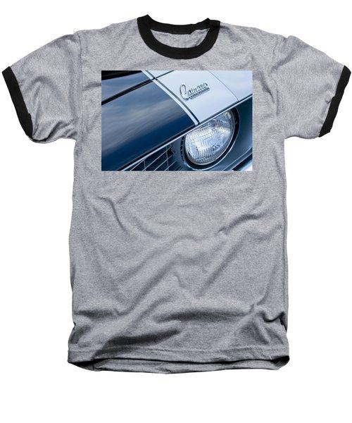 1969 Chevrolet Camaro Z-28 Emblem Baseball T-Shirt