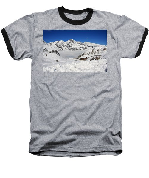 Austrian Mountains Baseball T-Shirt