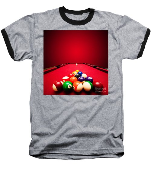 Billards Pool Game Baseball T-Shirt