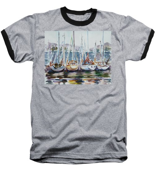 4 Boats Baseball T-Shirt