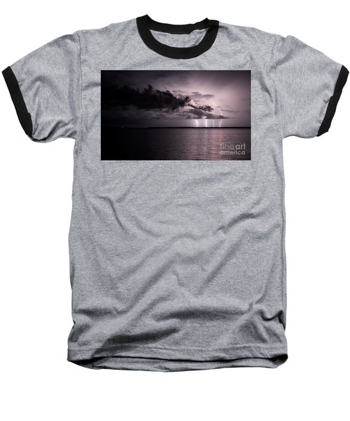 4 Bolts Over Captiva Island Baseball T-Shirt