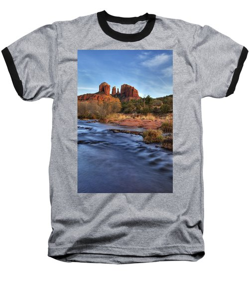 Cathedral Rocks In Sedona Baseball T-Shirt