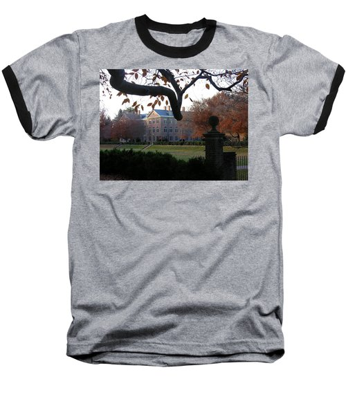Baseball T-Shirt featuring the photograph College Of William And Mary by Jacqueline M Lewis