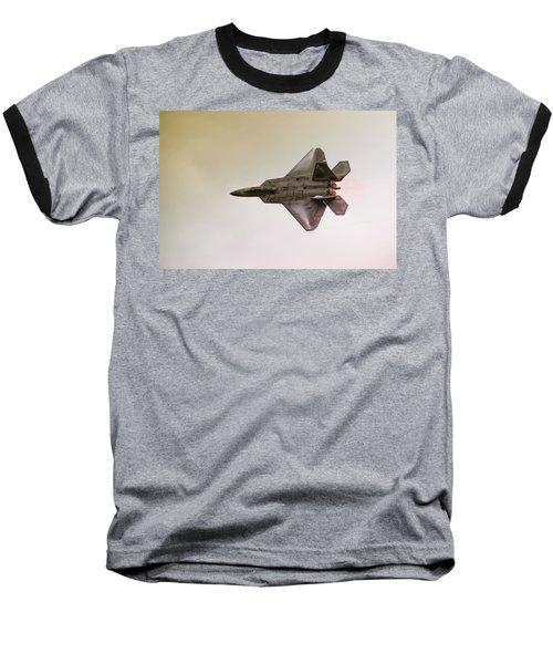 F-22 Raptor Baseball T-Shirt