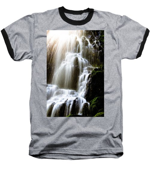 Baseball T-Shirt featuring the photograph Fairy Falls by Patricia Babbitt