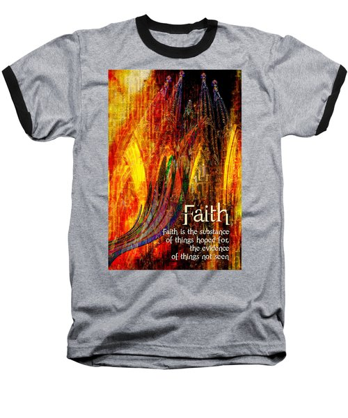 Faith Baseball T-Shirt