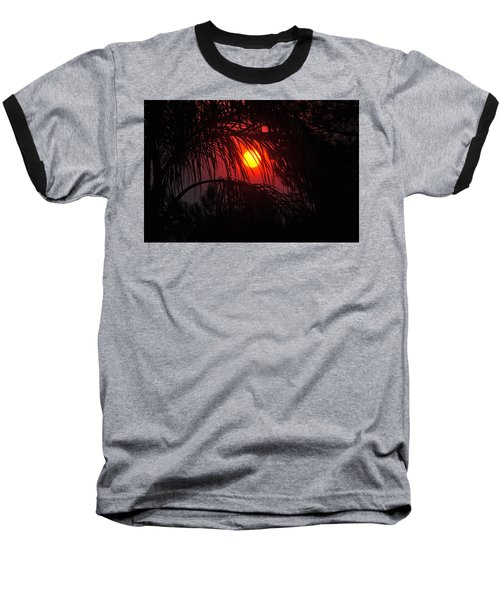Fire In The Sky Baseball T-Shirt