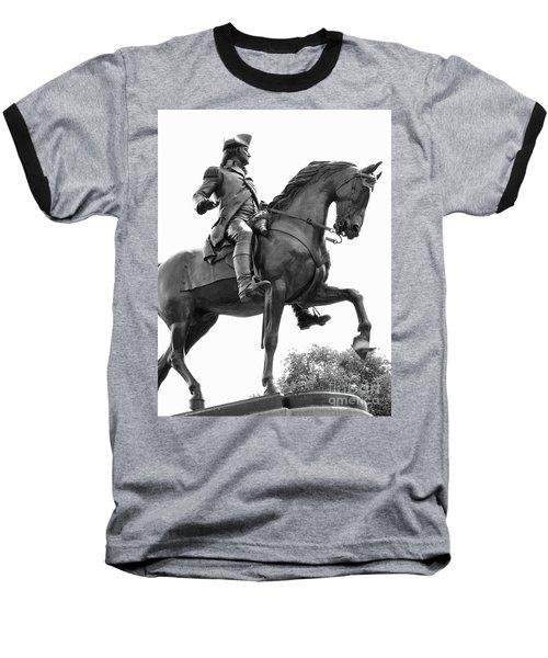 George Washington Statue Boston Ma Baseball T-Shirt