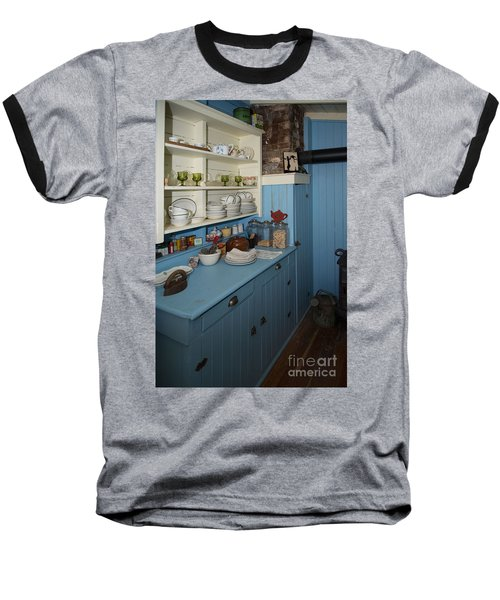 Heritage Cottage Museum On Bowen Island Baseball T-Shirt by Carol Ailles